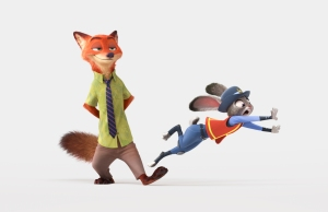 ZOOTOPIA – Pictured (L-R): Nick Wilde, Judy Hopps.