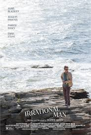 Irrational man movie poster