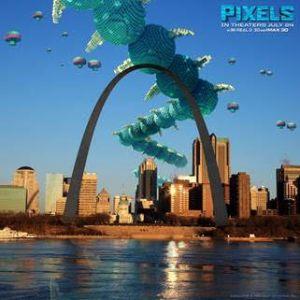 Pixels st Louis Poster