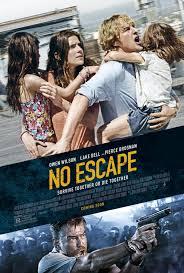 No escape movie poster