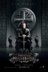 Last Witch Hunter - Comic Con Poster
