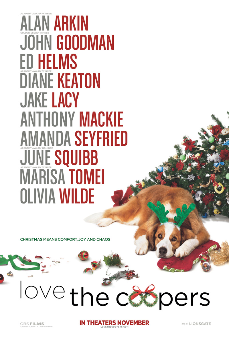 LOVE THE COOPERS – Rated PG-13 – MATINEE CHAT WITH KATHY KAISER