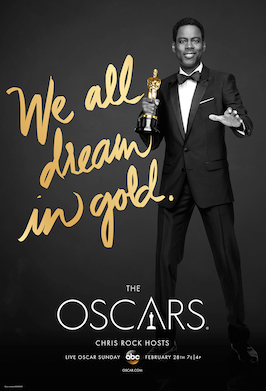 poster for 88th Academy Awards. The poster art copyright is believed to belong to the distributor of the event, the publisher of the event or the graphic artist. (1)
