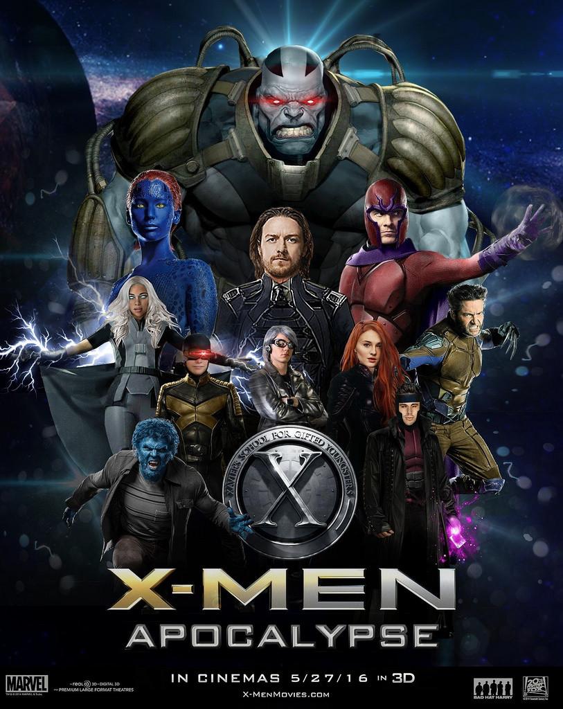 xmen Apocolypse Movie Poster