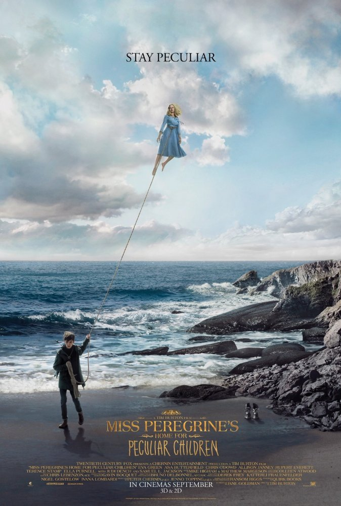 MISS PEREGRINE'S HOME FOR PECULIAR CHILDREN – Rated PG-13 – MATINEE