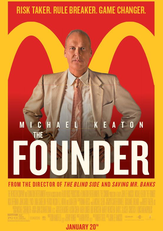THE FOUNDER – Rated PG-13 – MATINEE CHAT WITH KATHY KAISER
