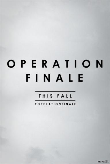 Operation Finale Title Art