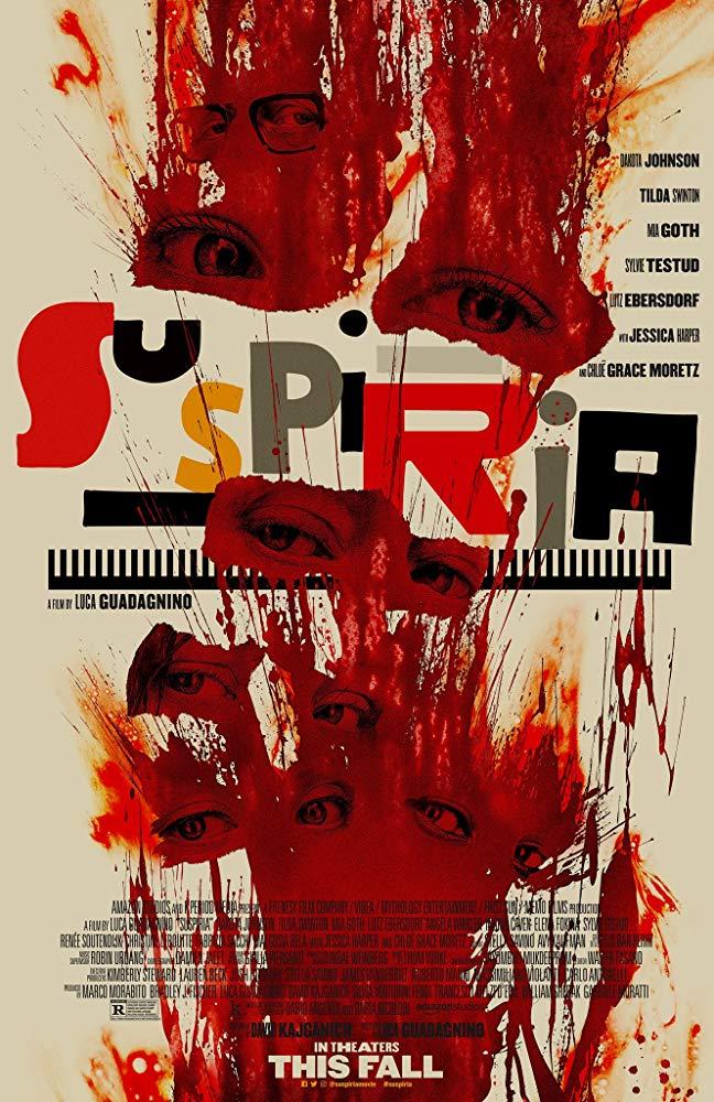 Suspiria poster