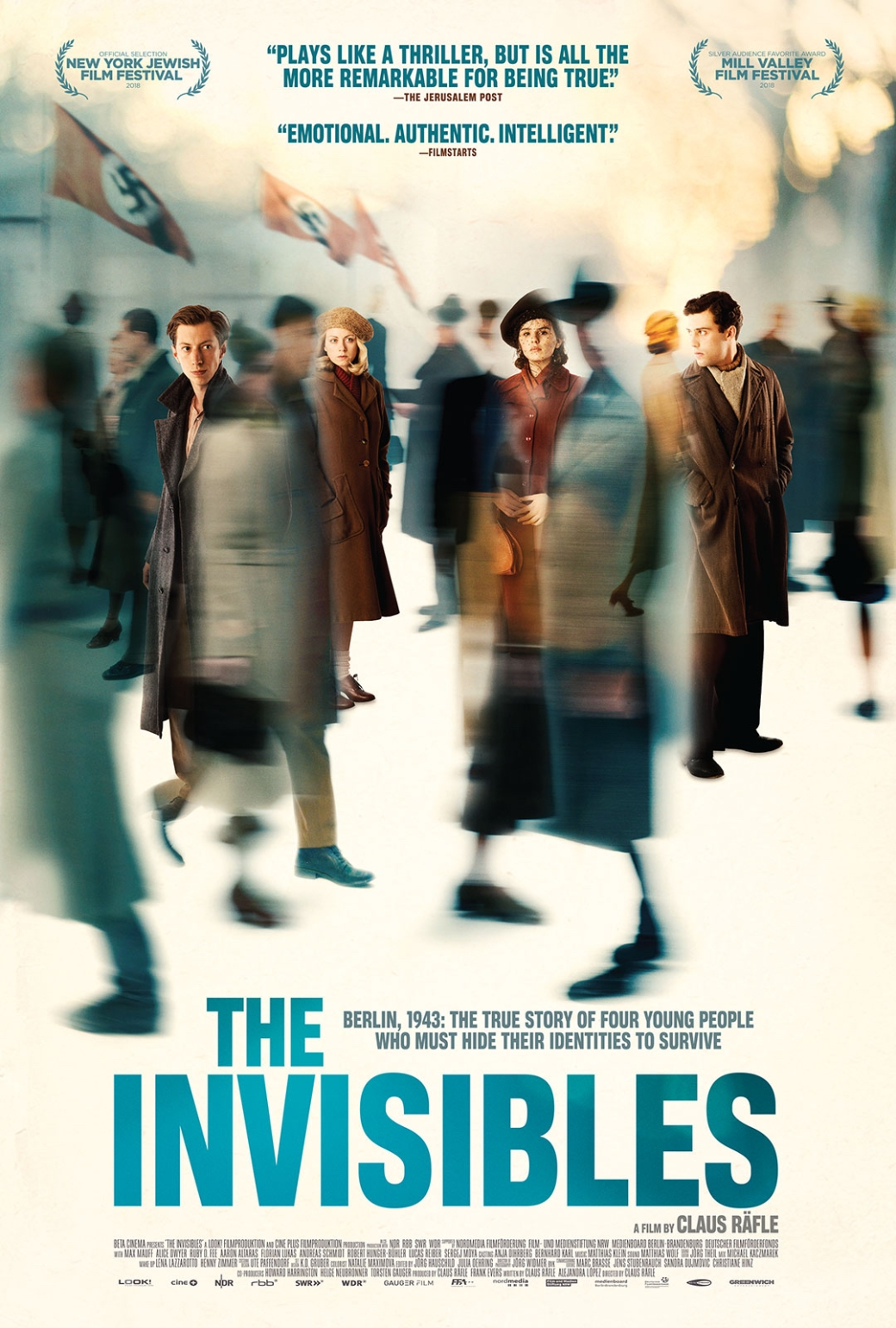 Poster - THE INVISIBLES - Courtesy of Greenwich Entertainment
