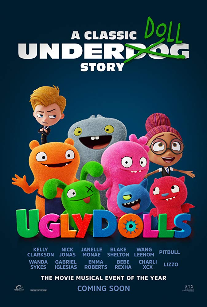 Ugly dolls poster
