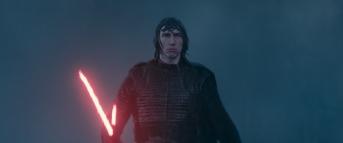 Adam Driver is Kylo Ren in STAR WARS: THE RISE OF SKYWALKER