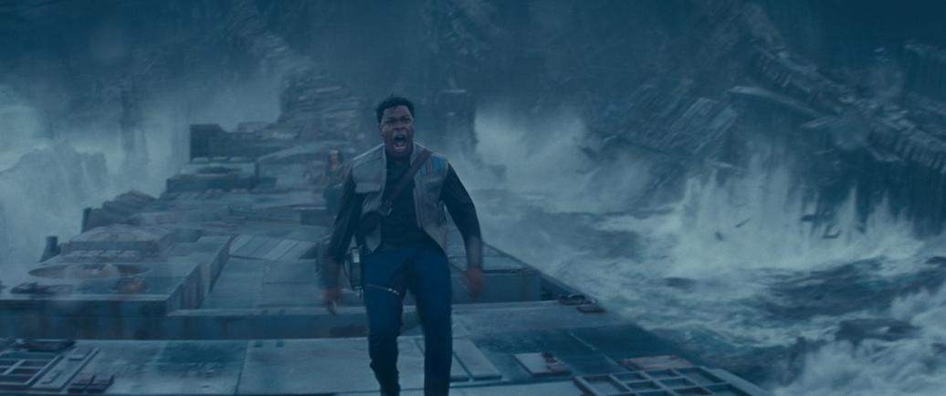 John Boyega is Finn in STAR WARS: THE RISE OF SKYWALKER