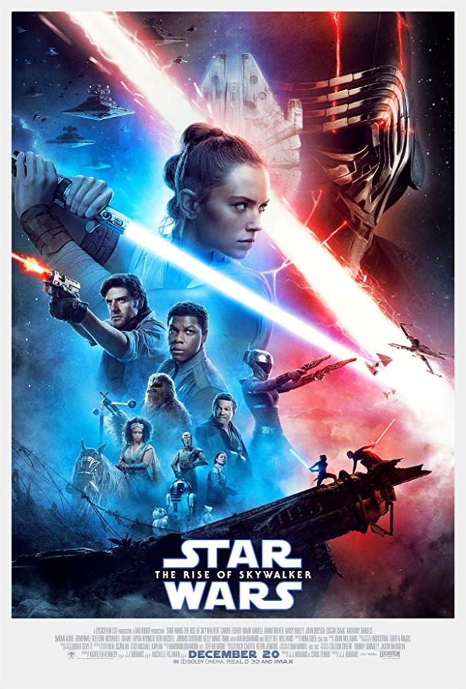 Stars Wars Episode IX THE RISE OF SKYWALKER