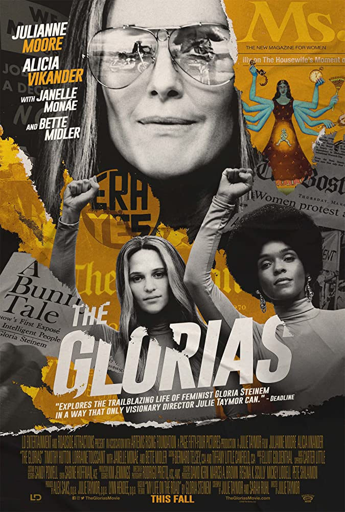 THE GLORIAS – Rated R – 2 hrs. 19 mins.